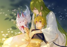 Kid Gilgamesh / Enkidu / Fou【Fate/Grand Order】