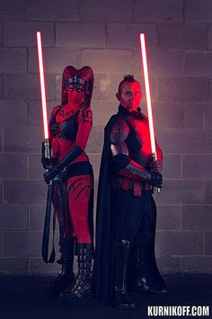 #Cosplay Star Wars:Darth Talon - Kelly Jane #Sith : #BloodSpiderX