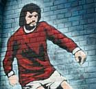 George Best mural in Belfast #mufc