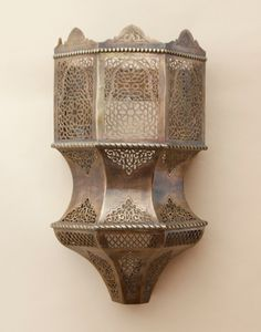 Furniture, lighting and home decor handcrafted in Morocco. Moroccan Lighting, Wall Lights, Lamp, Sconces, Lighting, Furniture Accessories, Lights, Moroccan, Islamic Decor