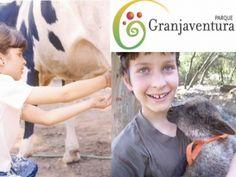 Para que los niños puedan estar  junto a animales de granja, Granjaventura en La Reina. www.granjaventura.cl