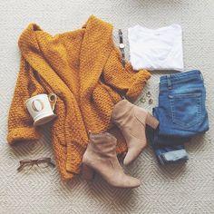 cozy knit cardigan / LivvyLand