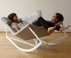 Get a rocking chair for two.   18 Products That Will Vastly Improve Your Relationship