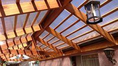 Cobertizo de Madera y Techo de Policarbonato | Ideas Construcción Casa