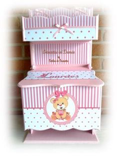 Regalo Baby Shower, Kit, Toy Chest, Storage Chest, Decoupage, Toys, Home Decor, Bedroom Decor, Business Gifts