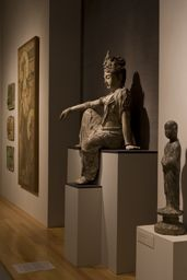 The Asian art galleries at the Princeton University Art Museum