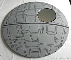 DIY Star Wars Death Star Mirror or Frame