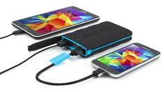 Braven BRV-Bank 6000 mAh Smart, Ultra-Rugged Portable Backup Battery