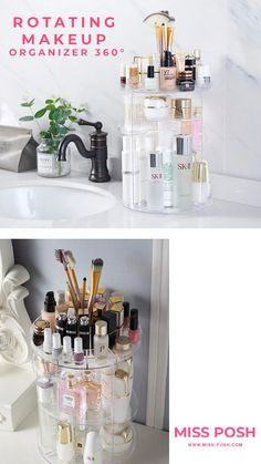 Beauty Corner, Merchandising Displays, Makeup Organization, Makeup Yourself, Gifts For Friends, Storage Spaces, In The Heights, Nail Polishes, Easy Storage