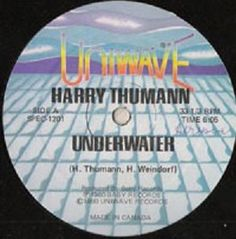 Harry Thumann / Erotic Drum Band ‎- Underwater / Action '78 CANADA 1979 Maxi vg+