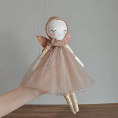 And one more sweetie for today's shop update ✨New #fairy doll ✨Hope you will like her