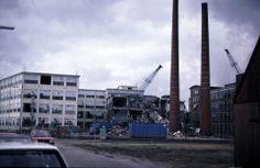 Sloop van Jansen de Wit kousenfabriek aan de Hoofdstraat in #Schijndel.