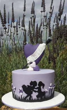 Why does this cake remind me of The Color Purple? Me and you must never part..... lol