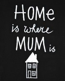 Kiz Canvas - Home is where Mum ....