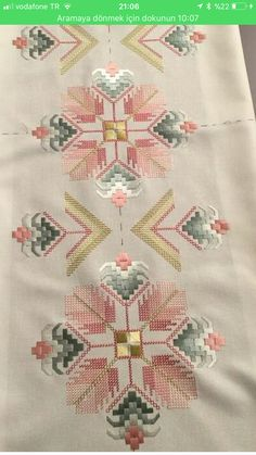 Brazilian Embroidery How To Do Hardanger Embroidery, Learn Embroidery, Ribbon Embroidery, Cross Stitch Embroidery, Embroidery Patterns, Broderie Bargello, Bargello Needlepoint, Cross Stitch Borders, Cross Stitch Patterns