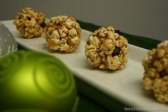 Healthy Popcorn balls! Awesome simple base recipe to tweak with your own mix-ins.