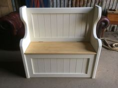 Antiques Victorian Antique Church Pew,chair,vintage Pine Bench.kent Furniture Showroom