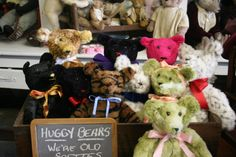 Huggy Bears. we're old softies