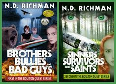 The Boulton Quest Series by N.D. Richman ~ Middle Grade/Young Adult ~ Reviews coming (July 24).-Completed