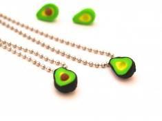 Avocado Best Friends Necklaces