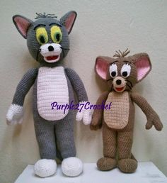 (4) Name: 'Crocheting : Crochet Jerry the Mouse (PDF)