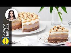 Cheesecake s bílou čokoládou Lidl, Graham Crackers, No Bake Cake, Food Videos, Tiramisu, Sweet Tooth, Cheesecake, Easy Meals, Food Porn