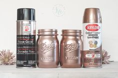 Lets talk rose gold spray paint colors! I also show some acrylics. I have bits of copper/rose gold mixed in with my gray, white and aqua-teal colors in my home. Update: 11/21/2016 This post contains affiliate links for Amazon and I make commission if you buy through my links in the next 24 hours. See ...