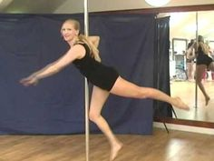 Western Flag (one handed knee to pole) - YouTube