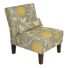 Found it at Wayfair - Armless Parsons Chair in Dove