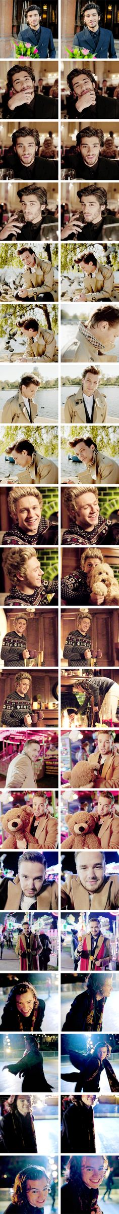 night changes music video. Best music video ever. If you haven't watched it yet. Go. Now #zaynislove