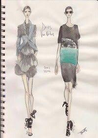 Pippa McManus Sketch Show : Dries Van Noten, S/S12, Paris