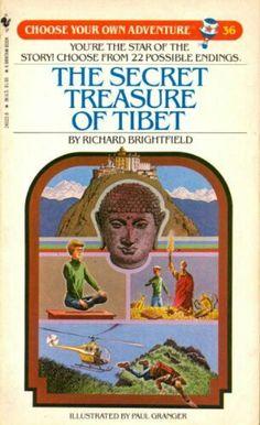 """The Secret Treasure Of Tibet""  ***  Richard Brightfield  (1984)"