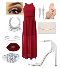 """""""Untitled #38"""" by malai-chue-1 on Polyvore featuring Mansur Gavriel, Boohoo, Tobi, Shay, Lime Crime, Urban Decay, Piggy Paint and Bliss Diamond"""