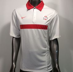 0c67c05e Ohio State Buckeyes Nike Dri-Fit L Team Issue Sideline Golf Polo Shirt $75