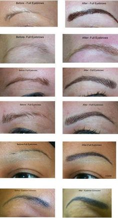 Forget the hassle of eyebrows! Easy Eyebrow tattoo. Gorgeous natural results. Available at Vancouver Salon info contact gabkar@shaw.ca