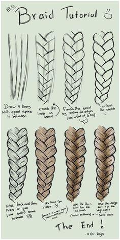 Kunst Zeichnungen - A step by step tutorial on how to draw braids on sumopaint. Kunst Zeichnungen – A step by step tutorial on how to draw braids on sumopaint. … Kunst Zeichnungen – A step by step tutorial on how to draw braids on sumopaint. Pencil Art Drawings, Art Drawings Sketches, Easy Hair Drawings, Amazing Drawings, Tattoo Sketches, Hipster Drawings, Music Drawings, Drawings Of Girls Hair, Drawings Of Lips