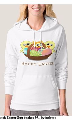Funny Chicks with Easter Egg basket Women's Hoodie for her. You can custom this design to products, click here https://www.zazzle.com/pd/styles?pd=235975250478540890&rf=238478323816001889 .See more products on collection https://www.zazzle.com/collections/easter_clothings_for_women-119488585367520922?rf=238478323816001889&CMPN=share_dclit&lang=en&social=true Via @HaloTee  #happyeaster #easter  #easterbunny #easteregg #easterclothingforher #Hoodie
