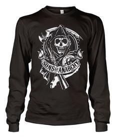SOA Scroll Reaper Long Sleeve Koszulka
