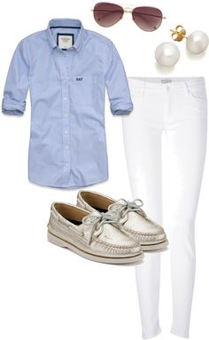 """OOTD: College Touring"" by madeleine-bloxam ❤ liked on Polyvore"