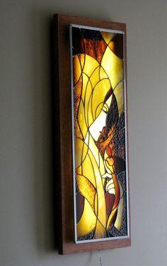 vitrail porte int rieure motif contemporain vitraux contemporain et motifs. Black Bedroom Furniture Sets. Home Design Ideas
