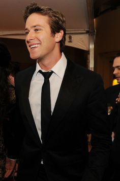 Armie Hammer might be one of my few celebrity crushes at the moment
