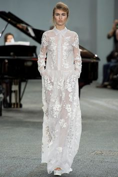 #LFW - Runway: #Erdem Spring 2014 Ready-to-Wear Collection