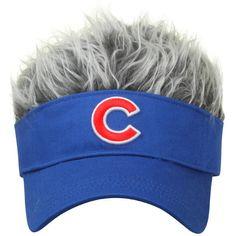 Chicago Cubs Hair Visor Hat Baseball Cap Royal Blue #ConceptOne #ChicagoCubs