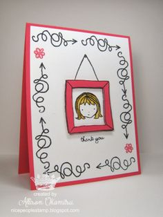 nice people STAMP!: Sweetie Pie + Sweetie Pie Frames Stamp Sets = 3 adorable cards!