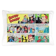 Pillow Case> Howdy Doody Comics> A Literate Phoenix