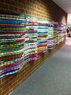 wall art tile school | Projects for high school art classes