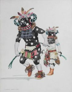 """Hu Kachina-Tungwup Ta-Amu"" THOMAS, OTIS (1925-1985)"