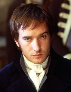 """""""Macfadyen's Darcy is wounded, boyish, broken. Stiff with inhibition, his face misshapen, his eyes eerie distant chips of light blue, he is magnificent. His sexuality is far more understated than Firth's, but no less powerful.""""  (Press review)"""