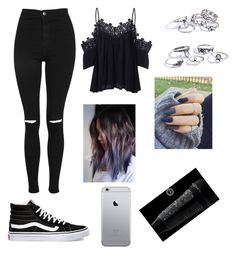 """Untitled #1222"" by catrinel-grigorescu on Polyvore featuring Topshop and Vans"