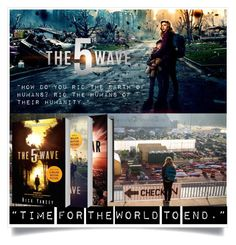 """The 5th wave"" by hangar-knjiga ❤ liked on Polyvore featuring art, movie, film, books and The5thWave"